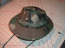 U.S. Military WOODLAND BDU CAMO COMBAT FLOPPY HAT BOONIE SMALL JUNGLE ARMY COVER