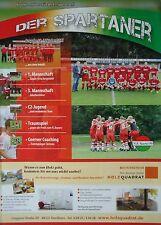 Programm Ausgabe 38 / Oktober 2012 N.S. Sparta Nordhorn