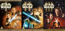 Star Wars Complete Prequel Trilogy 6 Disc DVD Boxed Sets Episode I II III 1 2 3