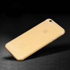 Shockproof Ultra Thin Matte Clear TPU Back Case Cover Skin For iPhone 6 6S Plus