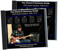 The Chord And Harmony Guide for Guitarists 2 DVD Set theory, practice, arranging