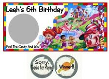 10 Candyland Candy Land Birthday Party Scratch Off Game Card Lottery Tickets