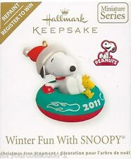 "Hallmark 2011 Winter Fun With Snoopy Register to Win ""SIGNED BY TRACY LARSEN"""