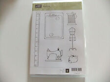 Sew Suite  ~  Stampin Up Clear Mount Stamp Set