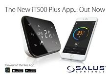 Salus IT500 programmable internet sans fil thermostat smart phone chauffage zones
