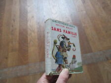 BIBLIOTHEQUE VERTE + JAQUETTE HECTOR MALOT sans famille tome 1 1954 05