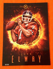 2014 Topps Fire 5x7 Ring of Fire JOHN ELWAY Broncos #ROF-JE (#D /99 Made)
