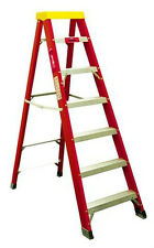 ProDec 7 Tread Fibreglass Step Ladders Builders Ladder Electricians Steps LFD170