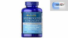 Hydrolyzed Collagen 1000 mg / 180 Tablets  skin hair nail care