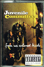 Free Us Colored Kids by Juvenile Committee (Cassette) BRAND NEW FACTORY SEALED