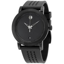 Movado Men's Swiss Museum Sport Black Rubber Strap Watch 42mm 0607038