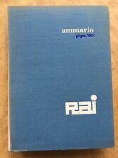 ANNUARIO RAI 1962 Relazione e bilancio dell'esercizio 1961