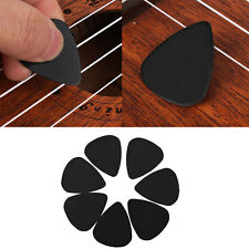 100Pcs Acoustic Guitar Picks Plectrums Musical Instrument Part Accessories Black