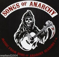"Songs from "" Sons of Anarchy "" Seasons 1 - 4 - CD NEW & SEALED  Tv Soundtrack"