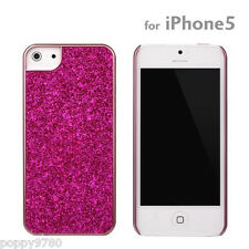 New PopnGo Hard Cover Case Slider slim High Gloss - Pink Sparkle for iPhone 5