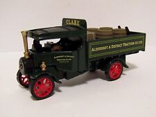 MATCHBOX YESTERYEAR FODEN STEAM LORRY ALDERSHOT & DISTRICT CLARE Y27 CODE 3
