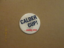 AHL CALDER CUP! Coming Soon Vintage Hockey Pinback Button