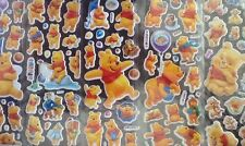WINNIE THE POOH Stickers 15 Packs 5 Different 3 Of Each - PARTY BAG GIFT