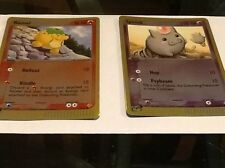 Pokemon Reverse Holofoil Numel, Spoink Card From The Dragon Set 70/97, 74/97