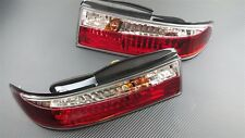 Phase 2 Cyrstal Clear LED Rear Tail Light Kit 3pcs For S14 Zenki 240SX Silvia