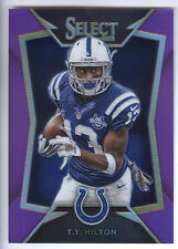 2014 Panini Select Prizm Purple #40 T.Y. Hilton #09/25