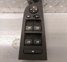 Genuine BMW E90 91 Black Electric Mirror Window Switch Pack Auto Power Folding
