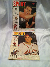 Collectible Vintage Sport magazines 1949 March Ralph Beard & May Enos Slaughter