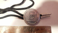 VTG  Boy Scouts of America BSA 1973 National Scout Jamboree Token Coin Bolo Tie