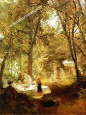 Our Picnic, New Lock, Berkshire by Charles Hoffbauer Artwork by Selby Prints