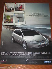 *AP17= FIAT STILO=PUBBLICITA'=ADVERTISING=WERBUNG=COUPURE=
