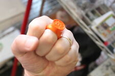 GREEN LANTERN ORANGE ARDVICE PLASTIC RING