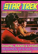 "STAR TREK GIANT POSTER BOOK VOYAGE 12(6.0)(FN)OPENS TO POSTER SIZE 33""X23"""