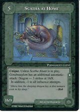 MIDDLE EARTH THE DRAGONS RARE CARD SCATHA AT HOME
