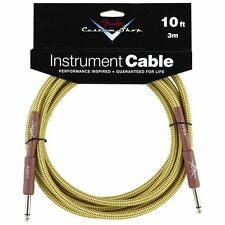 Genuine Fender Custom Shop Tweed Guitar Cable - 10 Pies (3 metros)