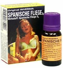 Spanish Fly Drops 10 ml Quality Aphrodisiac Inverma Added to a Drink