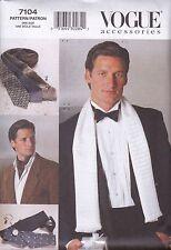 Vogue Hombres Accesorios Patrón De Costura Lazo Amarra Faja Sujetadores V7104
