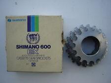 SHIMANO 600 EX / AX 6-SPEED CASSETTE 15-20  NOS - NIB