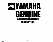Yamaha Parts Manual Book 1989 FZR400SWC