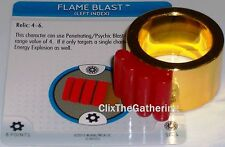 FLAME BLAST S004 The Invincible Iron Man Marvel Heroclix special object/relic