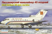 Eastern Express 1/144 Yak-40 Late version Aeroflot (EE14493) Civil Airliner