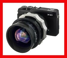 @ PRO Adapter FUJI X Mount X-PRO1 X-E1 -  BNCR Mitchell Lens Cooke Zeiss K35 @