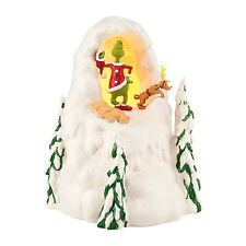Dept 56 Grinch Village Mount Crumpet Christmas 4029621 DR. Seuss NEW NIB Lighted