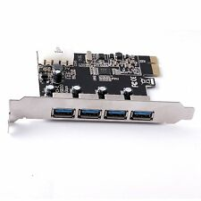 USB 3.0 PCI-E Express ADD-ON Card with 4 Ports