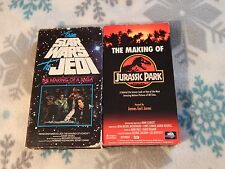 From Star Wars to Jedi - The Making of a Saga + Making of Jurassic Park (VHS x2)