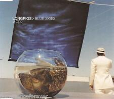 LONGPIGS - Blue Skies (UK 3 Track Enh CD Single Part 2)