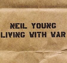 1 CENT CD Living With War - Neil Young