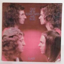 """33T SLADE Disque Vinyle LP 12"""" OLD NEW BORROWED AND BLUE - POLYDOR 2442123 Rare"""