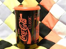 Coca-Cola Thermo Mug w/ Lid - BLACK/RED - Playing Card - QUEEN & KING