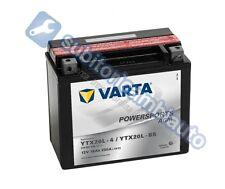 BATTERIA MOTO 18Ah VARTA 12V 250A di spunto Powersports AGM 518901026 YTX20L-BS