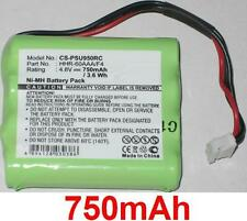 Batterie 750mAh type 8100-911-02101 HHR-60AAA/F4 Pour Philips Pronto RU970